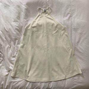 Zara A-lime Dress Medium White